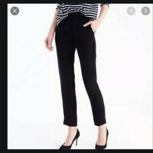 NWT J. Crew 365 Crepe Tall French Girl Slim Crops